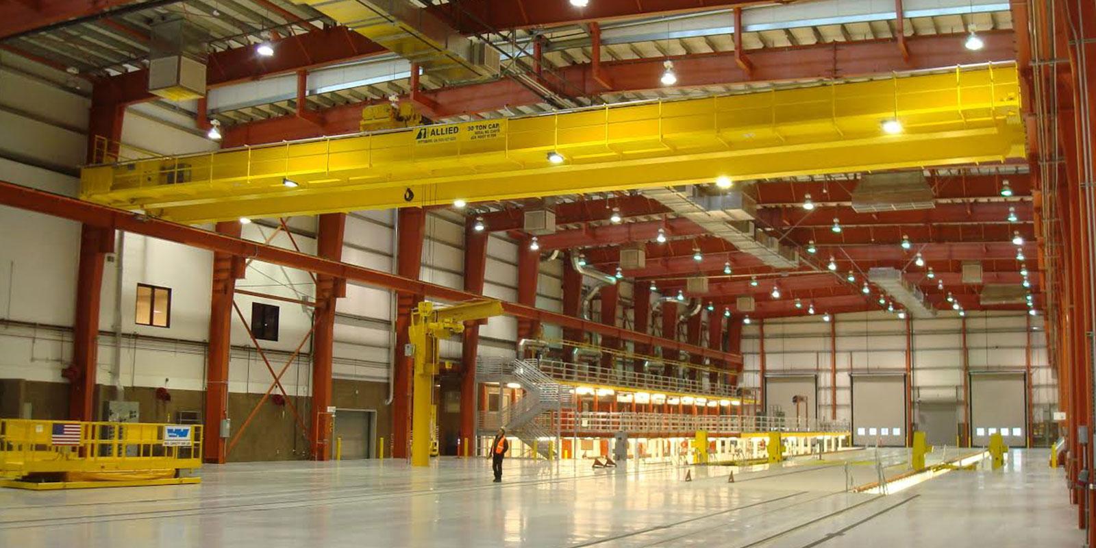 30-10 ton crane Stricker Engineering